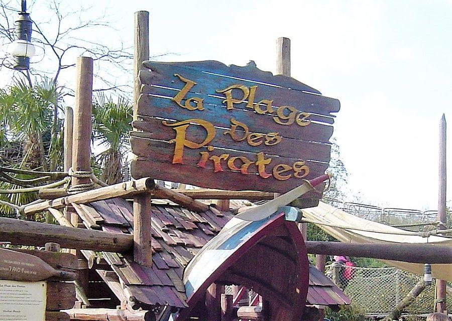 Plage des Pirates, Pirates' Beach in Adventureland in Disneyland Paris – Foto: © Adri van Esch