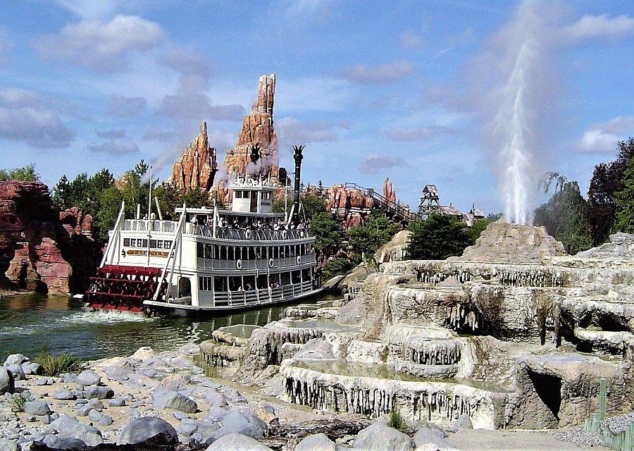 Mark Twain in Disneyland Paris – Foto: © Adri van Esch