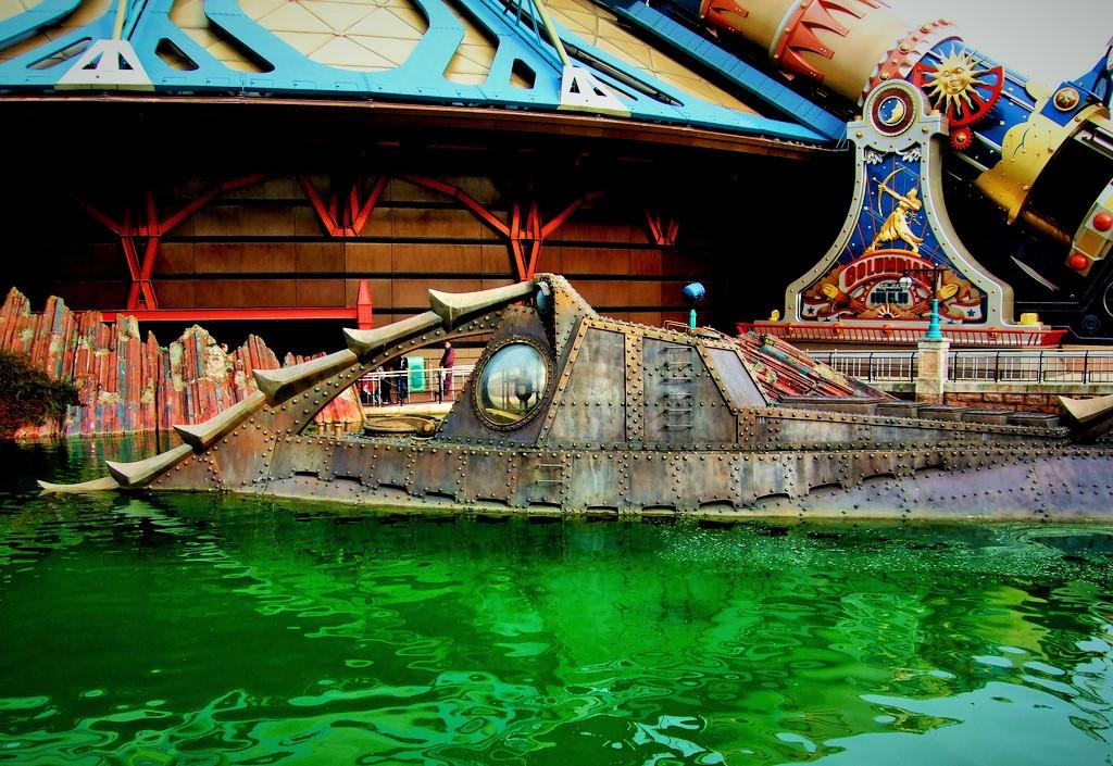Nautilus in Disneyland Paris - Foto: Mr. Evil Cheese Scientist, Flickr c.c.