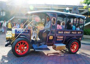 Boevenwagen in Disneyland Paris - Foto: © Adri van Esch