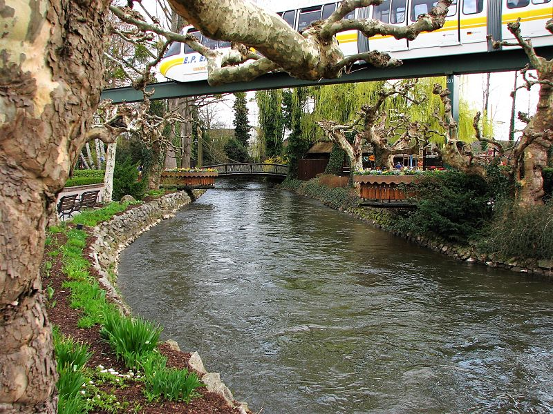 Riviertje Die Elz in Europa-Park - Foto: Jeremy Thompson (Flickr c.c.)