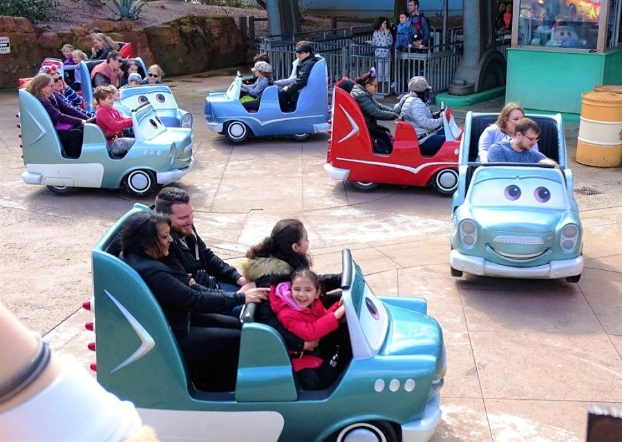 Cars Race Rally in Walt Disney Studios - Foto: © Adri van Esch