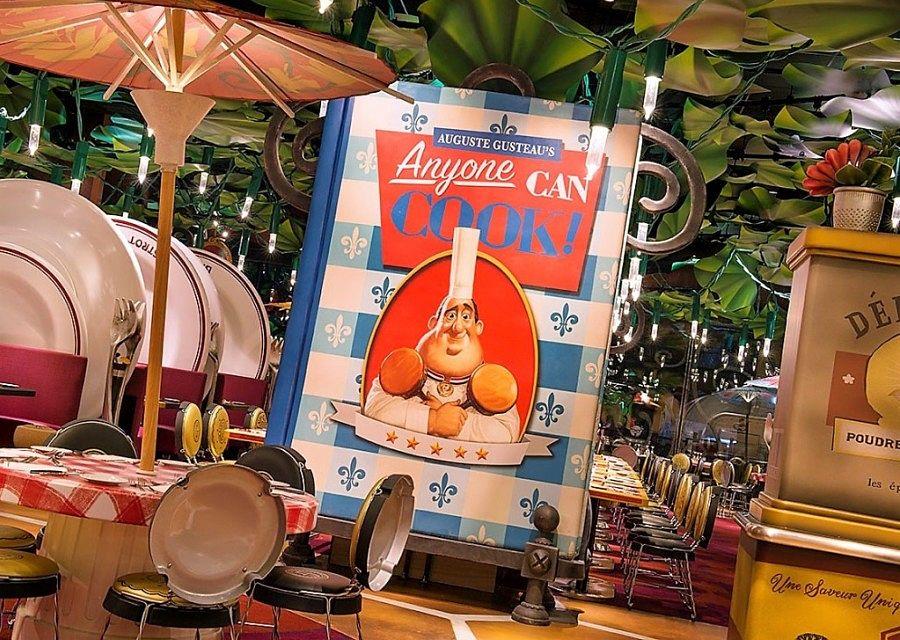 Chez Rémy in Walt Disney Studios Park - Foto: © Disney
