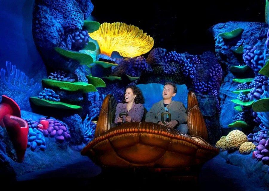 Crush's Coaster in Walt Disney Studios Park - Foto: © Disney