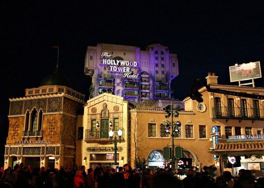 Hollywood Tower Hotel in Walt Disney Studios Park - Foto: © Adri van Esch