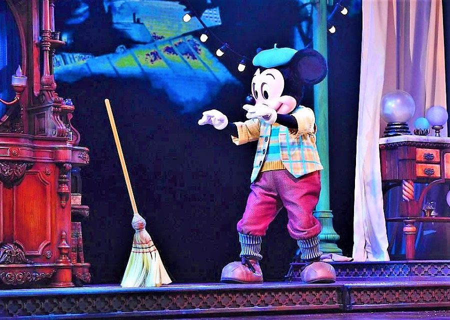 Mickey and the Magician in het Animagique Theater - Foto: © Disney