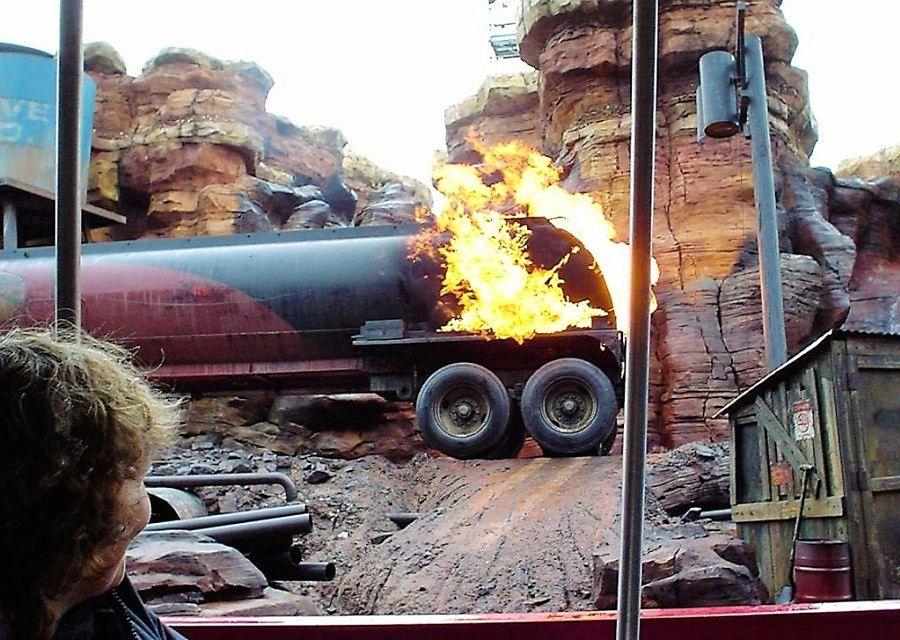 Tram Tour en Catastrophe Canyon in Walt Disney Studios Park - Foto: © Adri van Esch