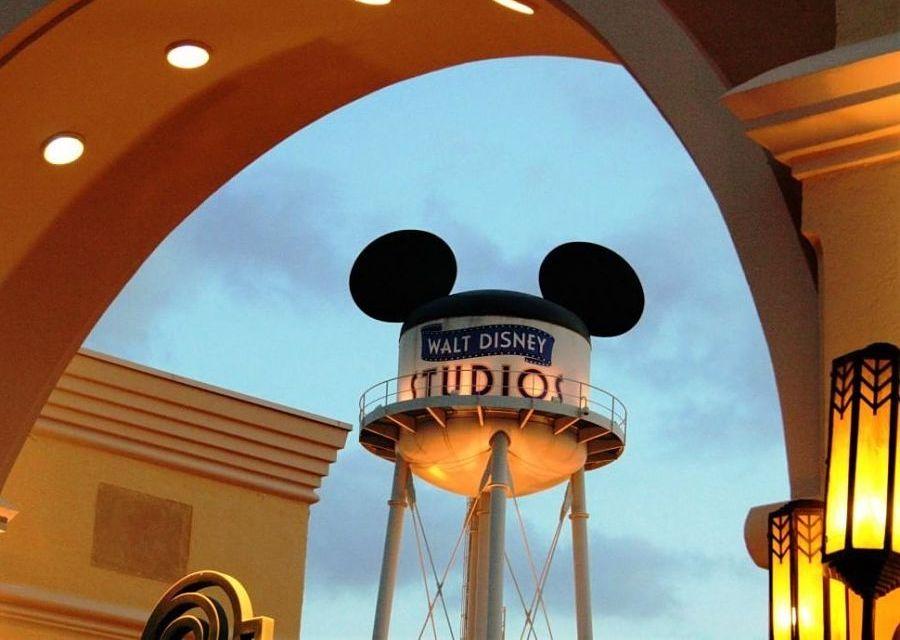 De watertoren van Walt Disney Studios - Foto: © Adri van Esch
