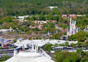 Het Magic Kingdom in Walt Disney World vanuit de lucht - Foto: © Disney