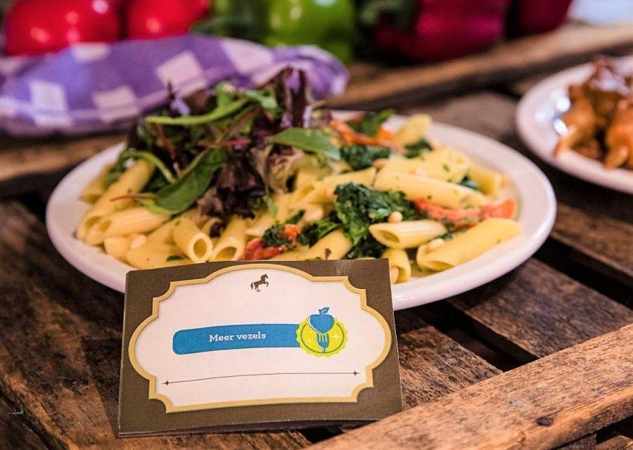 'De Betere Keuze' in de Efteling, pasta met meer vezels