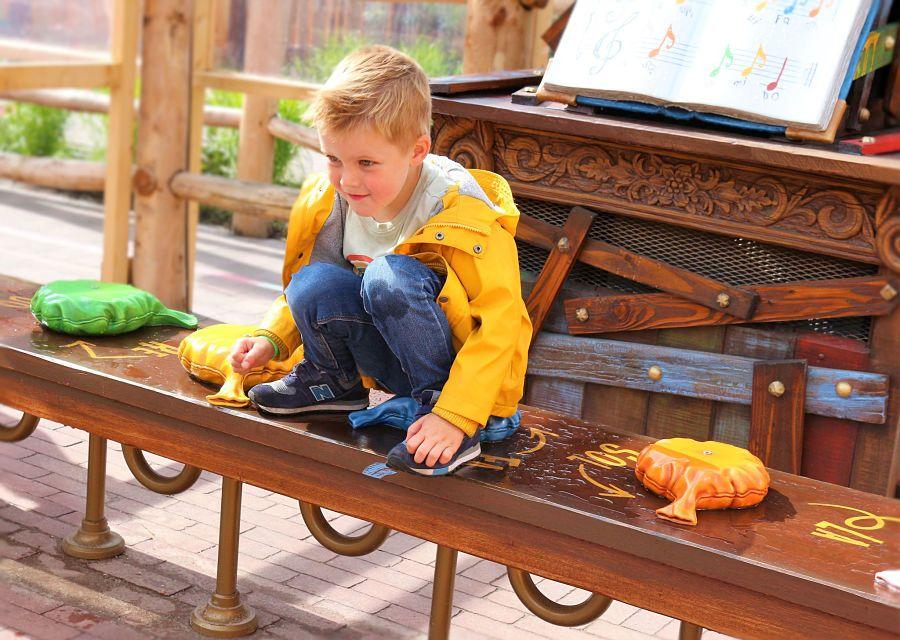 Een succes: het scheetkussenorgel bij Max & Moritz in de Efteling - Foto: © Adri van Esch