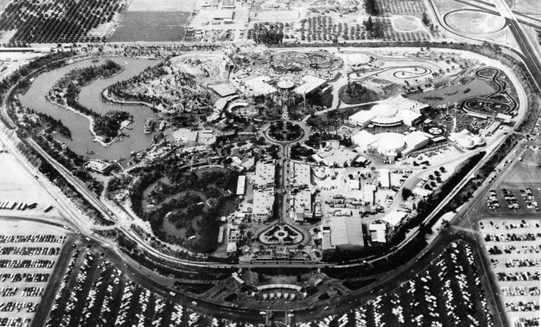 Disneyland in 1956