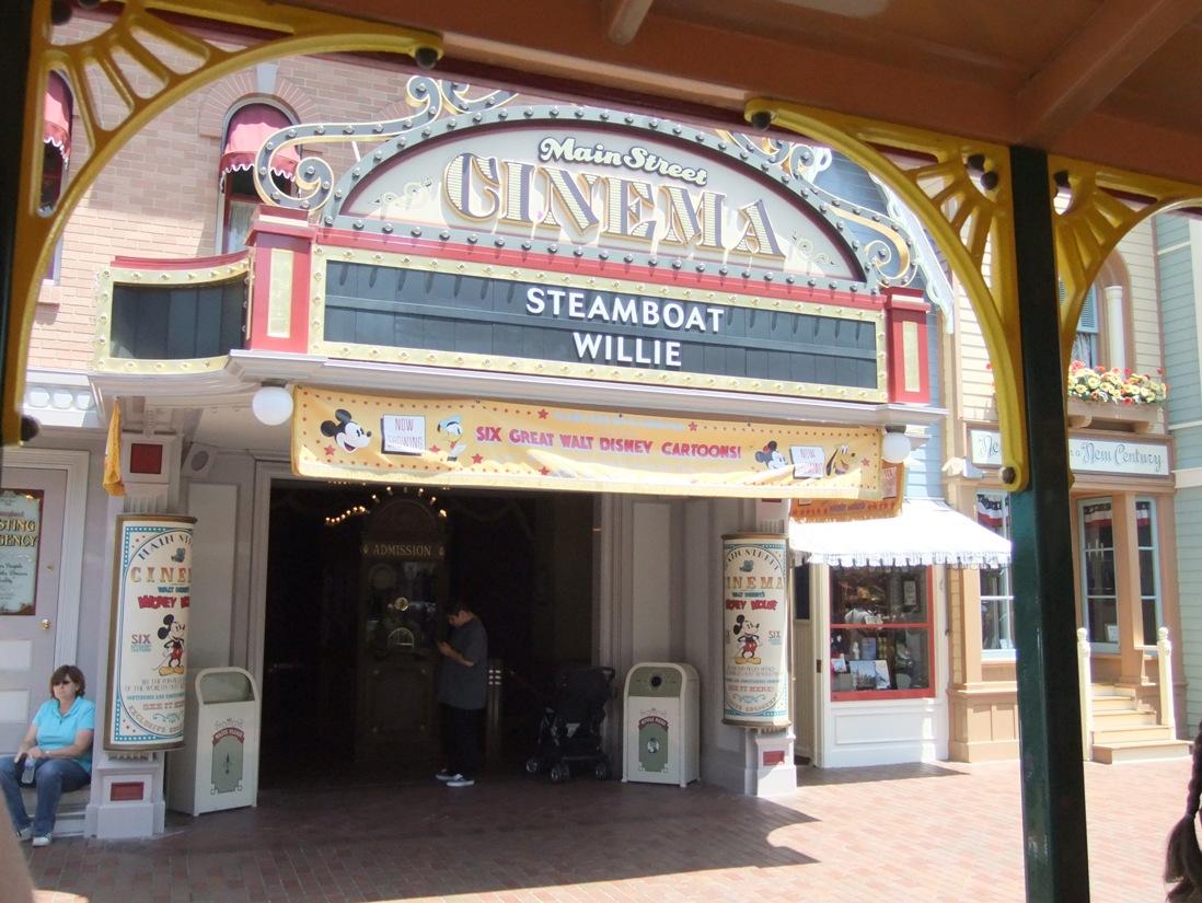 Main Street Cinema in Disneyland - © Adri van Esch