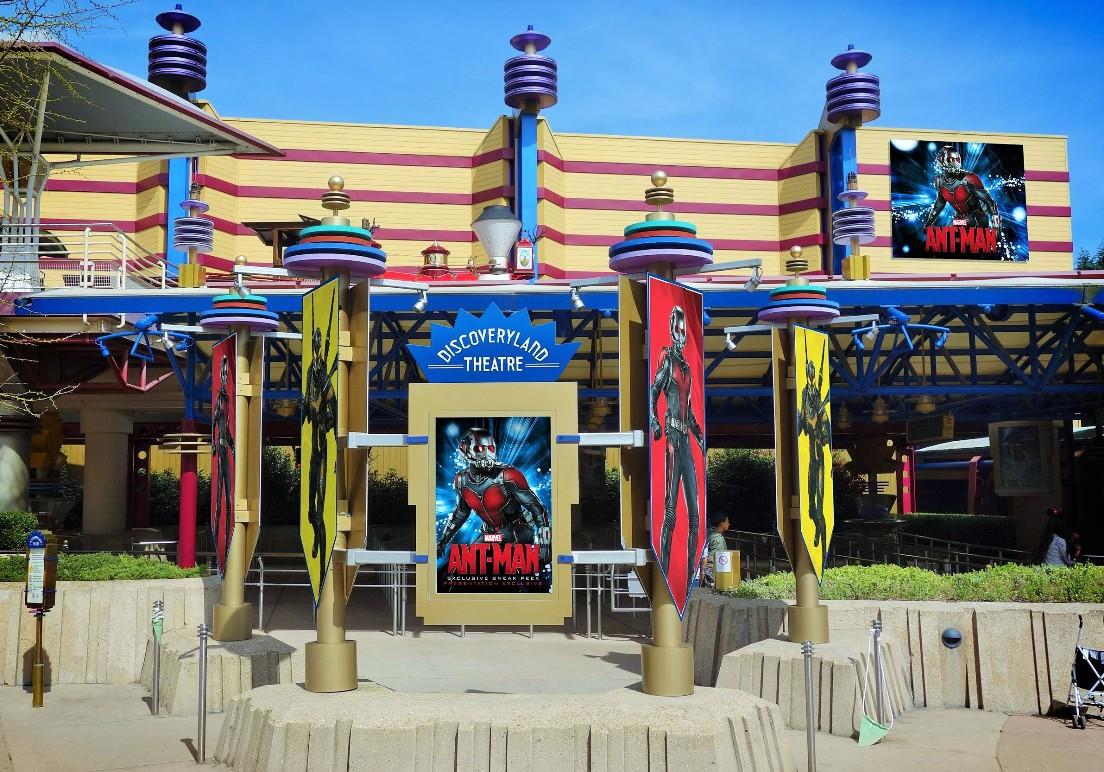Het Discovery Theater in Disneyland Park - Foto: (c) Disney