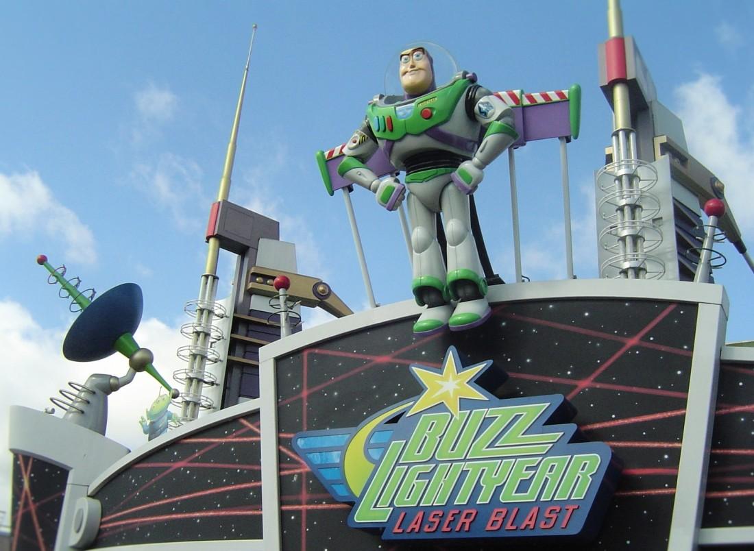 Buzz Lightyear Laser Blast in Disneyland Paris - Foto: (c) Adri van Esch