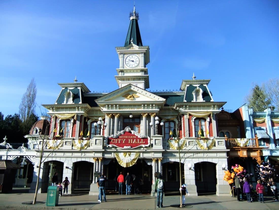 City Hall in Disneyland Park - Foto: © Adri van Esch