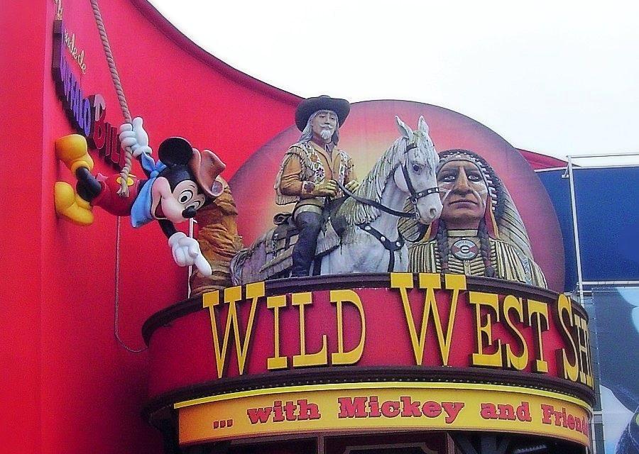 Buffalo Bill's Wild West Show in Disney Village in Disneyland Paris - Foto: © Adri van Esch