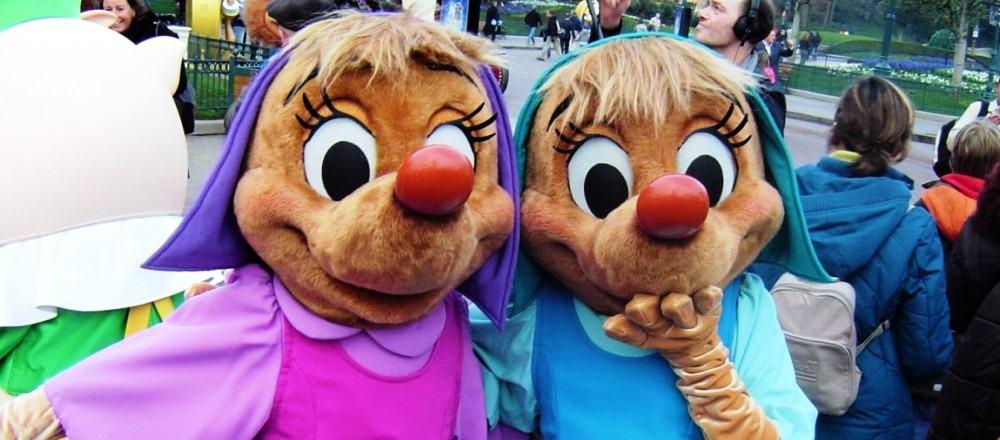 Ontmoet stripfiguren in Disneyland Paris - Foto: © Adri van Esch