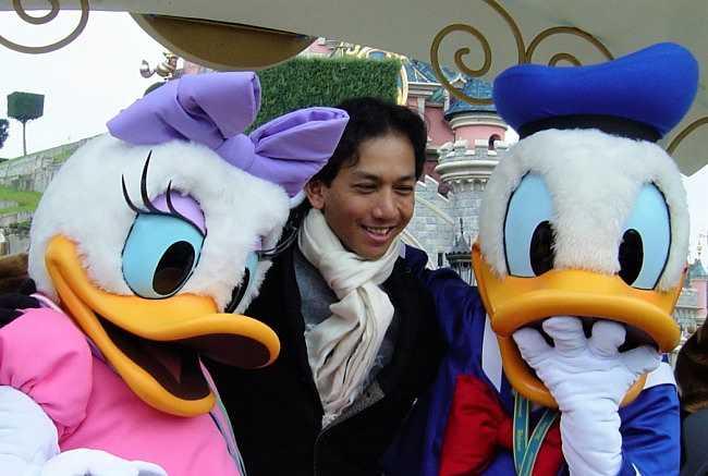 Ontmoet Donald Duck en Daisy in Disneyland Paris - Foto: © Adri van Esch