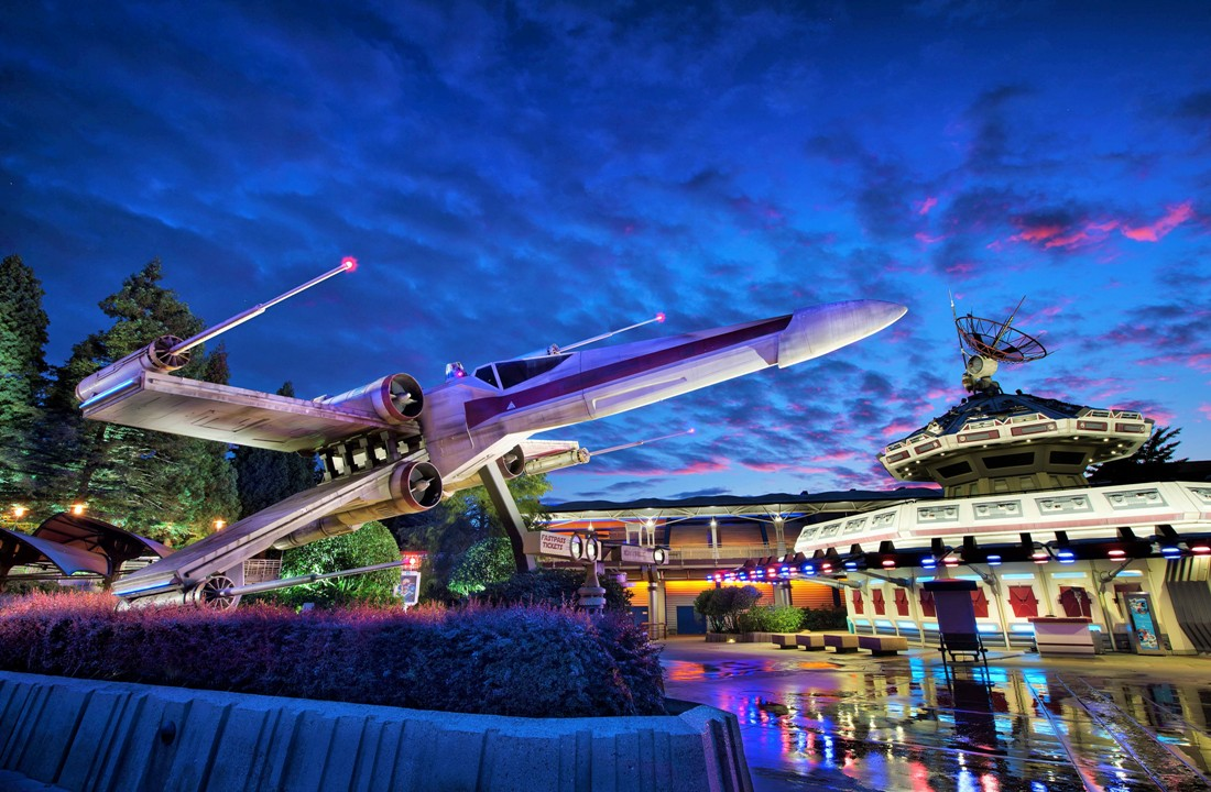 Star Tours in Disneyland Paris - Foto: (c) Disney
