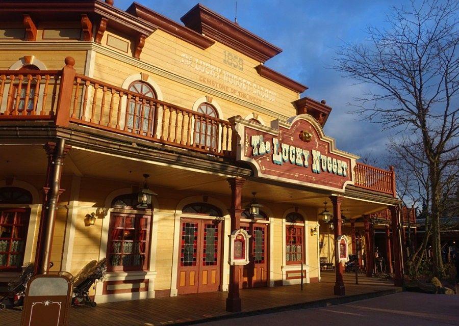 The Lucky Nugget Saloon in Disneyland Paris - Foto: © Adri van Esch