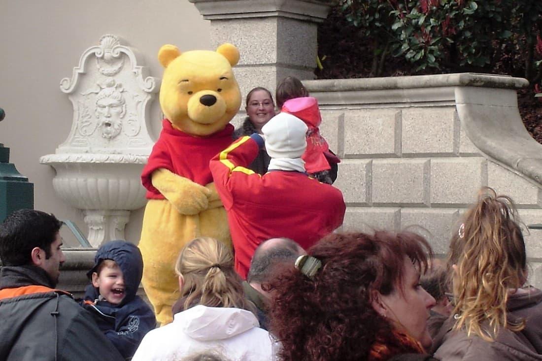 Winnie the Pooh in Disneyland Paris - Foto: © Adri van Esch