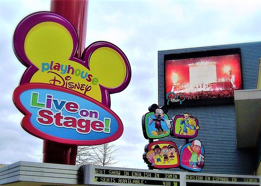 Playhouse Disney in Walt Disney Studios - Foto: © Adri van Esch