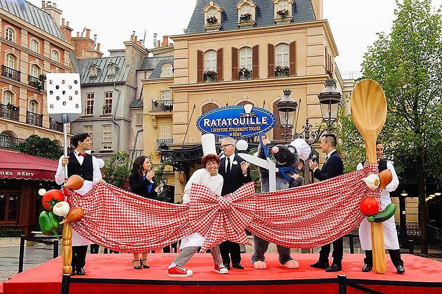 Opening Ratatouille, The Adventure in Walt Disney Studios - Foto: © Disney