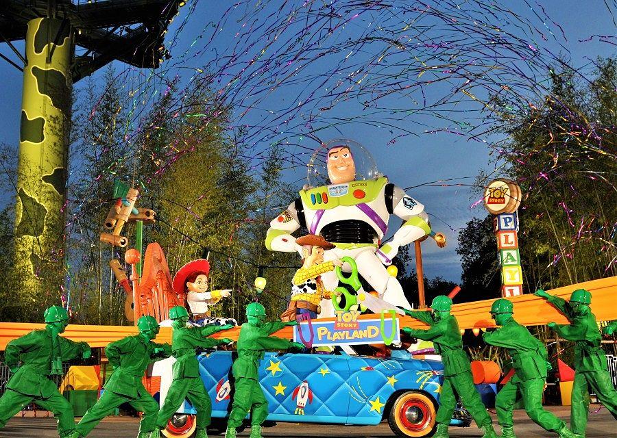 Opening Toy Story Playland in Walt Disney Studios - Foto: © Disney