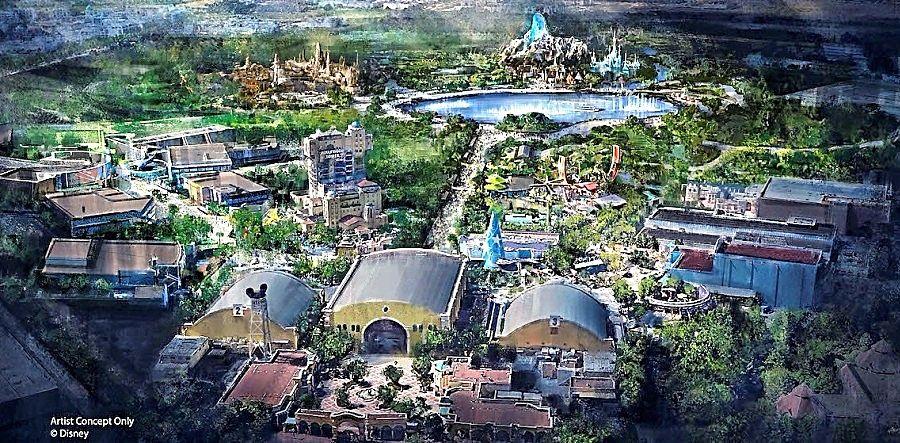 Uitbreiding van Walt Disney Studios - Beeld: © Disney