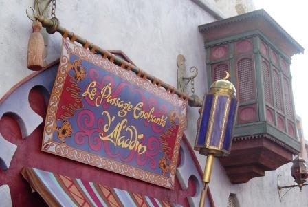 Op bezoek bij Aladdin in Disneyland Paris - Foto: (c) Parkplanet