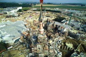 De bouw van het Euro Disneyland - Foto: (c) Disney