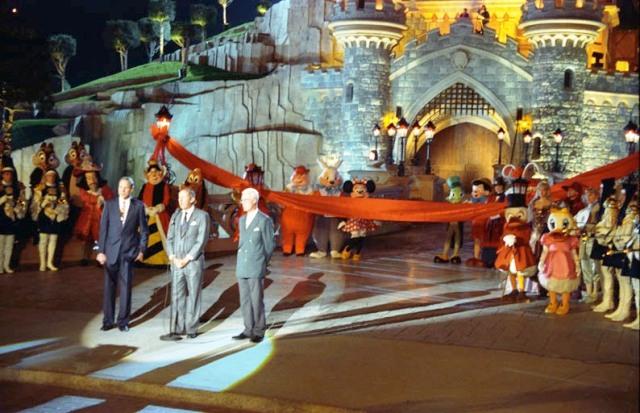 De opening van het Euro Disneyland in 1992 - Foto: (c) Disney