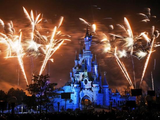 Vuurwerk in Disneyland Paris - Foto: (c) Disney