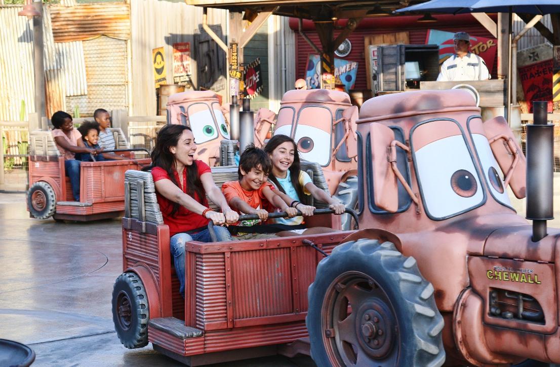 Maters Tractors in Disney's California Adventure - Foto: © Disney