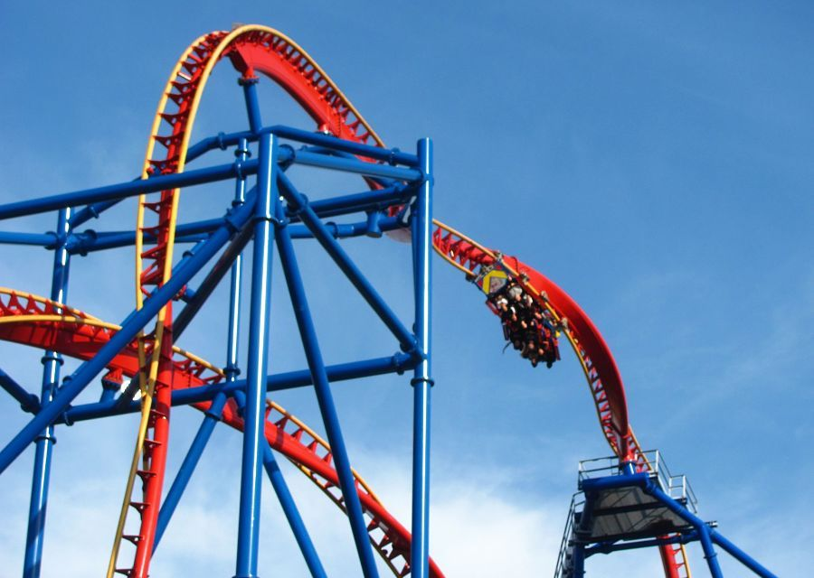 Superman Ultimate Flight in Six Flags Discovery Kingdom - Foto: Jeremy Thompson (Flickr)