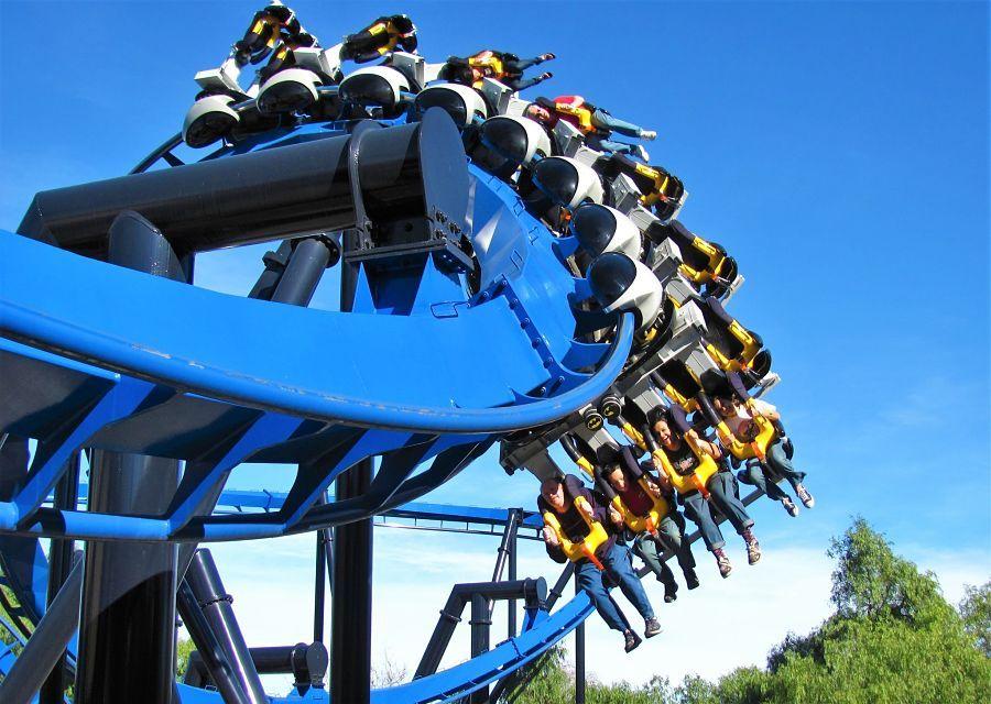 Batman in Six Flags Magic Mountain - Foto: Jeremy Thompson (Flickr)