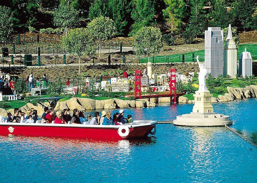 Coast Cruise en Miniland in Legoland California
