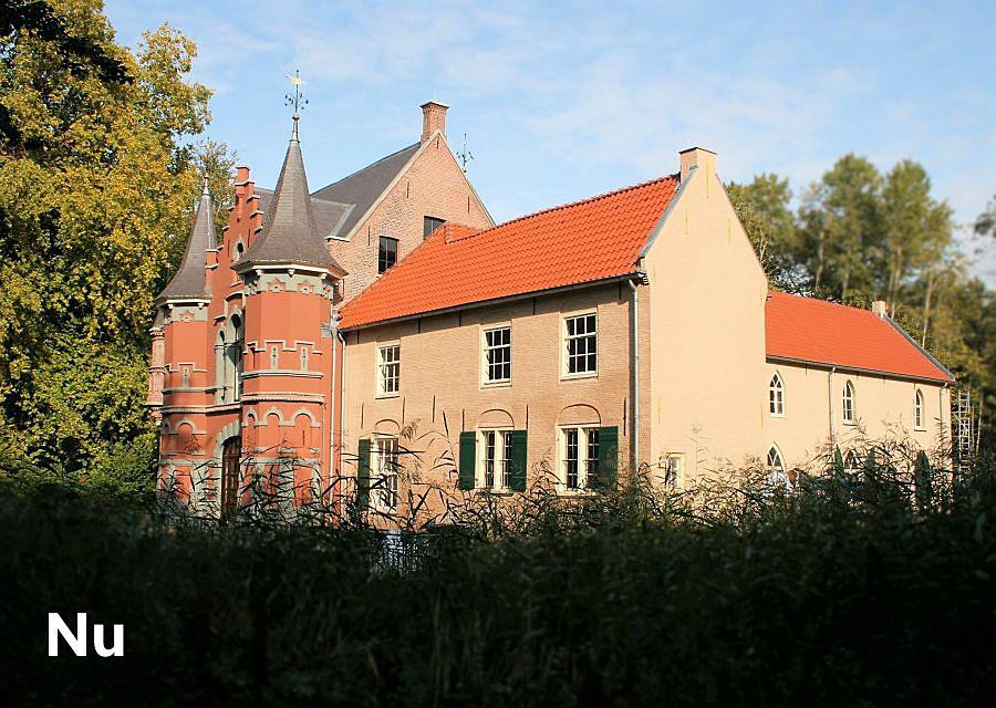 Het gerestaureerde kasteel d'Oultremont in Drunen - Foto: © Adri van Esch