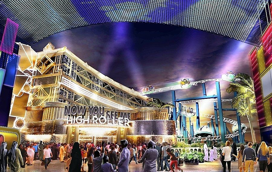 Achtbaan Now You See Me: High Roller voor Motiongate Dubai