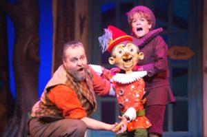 Pinokkio in het Efteling Theater