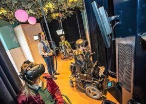 Virtuele Droomvlucht voor fysiek gehandicapten in de Efteling