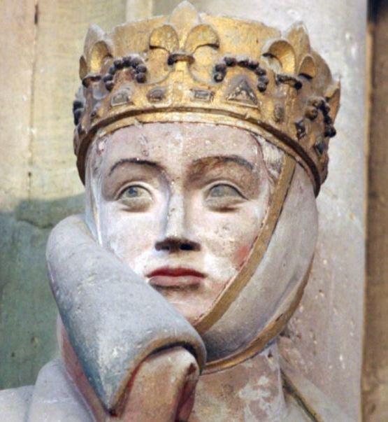 Voorbeeld voor de boze stiefmoeder van Sneeuwwitje: Uta von Naumburg