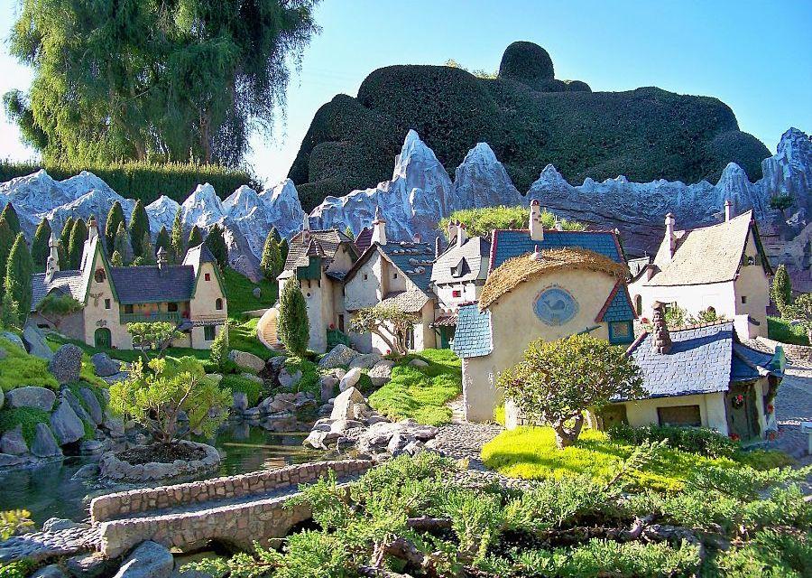 Storybook Land in Disneyland in Anaheim - Foto: Loren Javier