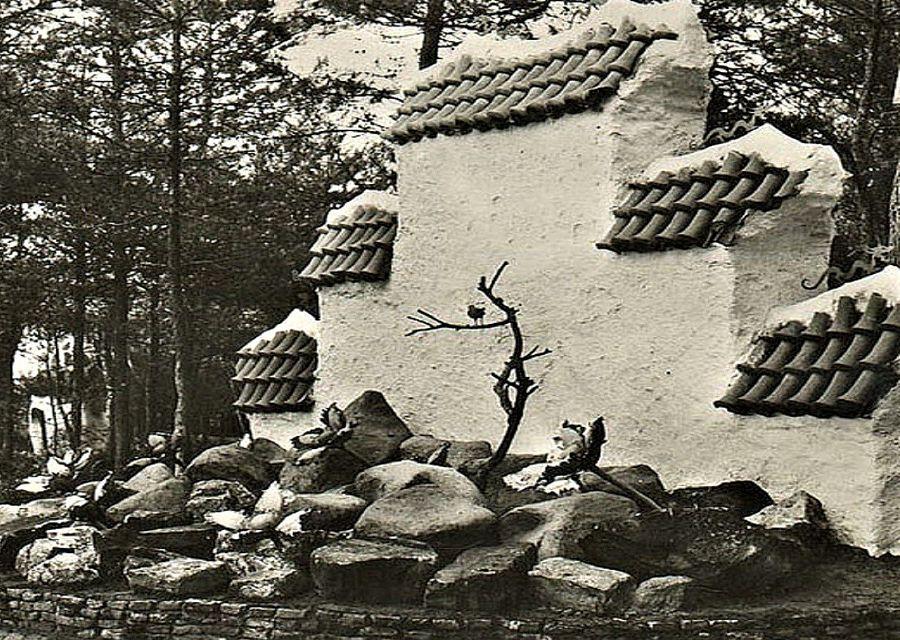 Van 1952 tot 1979 zong de Chinese nachtegaal op deze plek in de Efteling