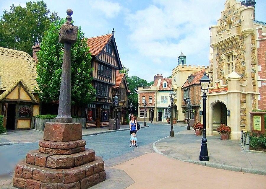Engeland in Epcot in Walt Disney World - Foto: © Adri van Esch