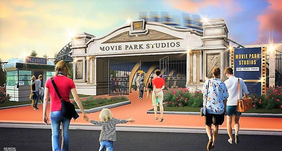 Nieuw voor 2021: Movie Park Studios in Movie Park Germany