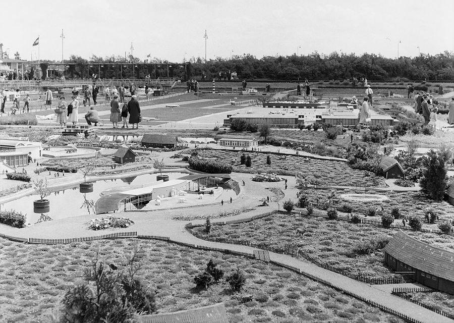 Madurodam bij de opening in 1952 - Foto: Nationaal Archief / Heidemij