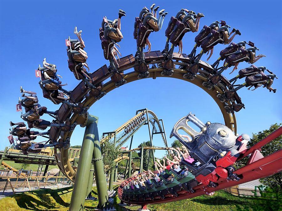 Volldampf en Hals über Kopf, de twee nieuwe achtbanen van Erlebnispark Tripsdrill