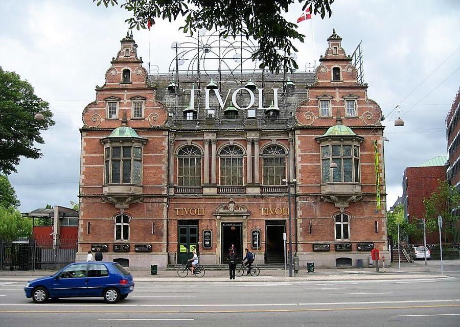 Tivoli Slottet in Kopenhagen